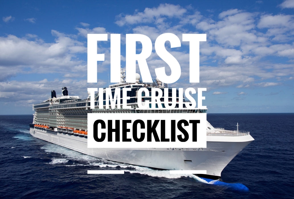 First time cruise checklist – you need to read this!